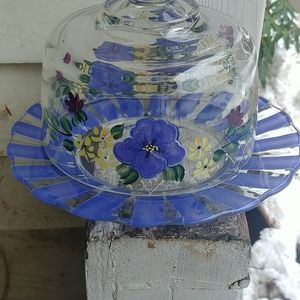 BEAUTIFUL H.P GLASS  COVERED DOME